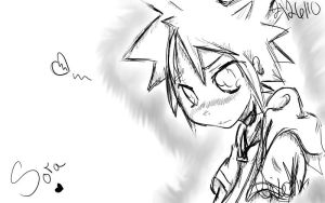 When Sora is Emo... by chissyrulez94
