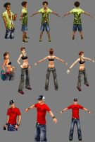 SK8r Nation - More Characters by hugohugo