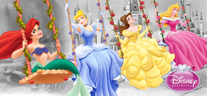 Disney Princesses - Royal Fun by SilentMermaid21