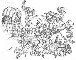 Metroid Conglomerate by sitar