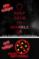 Twilight and Anti-Twilight by hellohappycrafts