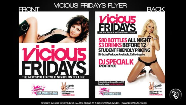 Vicious Fridays by rjartwork