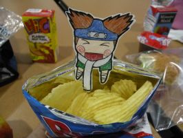 Choji and his Chips by uchi848