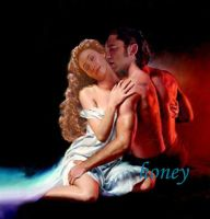 'Fire and Ice' - Erik - Christine - PotO by honeyphan