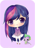 MLP FIM-Twilight Sparkle by mochatchi