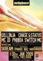dillinja chase+status poster by c0p
