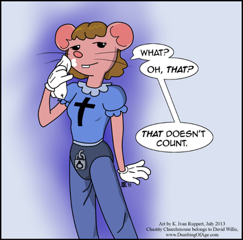 Chastity Churchmouse by KIvanRuppert