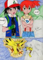 Ash x Misty Doujinshi: Love and Courage Page 1 by Kisarasmoon