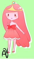 Princess Bubblegum by Quelliette