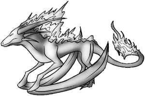 Dragon FireBack Pose by Annatiger1234