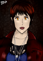 Alice Cullen-my anime style by Karen-Donna