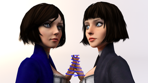 BioShock Infinite - Who is she? by SilverMoonCrystal