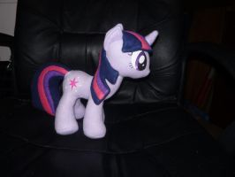 Twilight Sparkle plushy - side by Razia