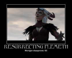 Morrigan Disapproves by twixtnightandmorn