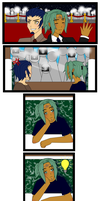 Prize Comic for Atey by Vibiana