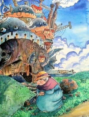 Howl's Moving Castle by Baleineau