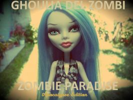 Ghoulia Del Zombi - Zombie Paradise by GusanoMoonster