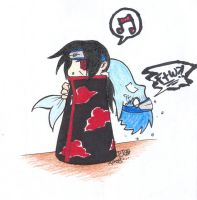 Itachi and Kisame by starthere13