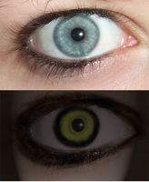 Before and After -- Evil Eye by DominosAreFalling