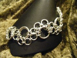 bubble maille bracelet by BacktoEarthCreations