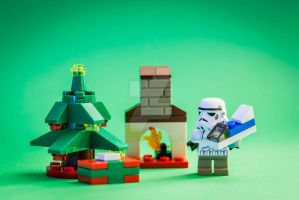 Christmas is also for trooper by Yodinio