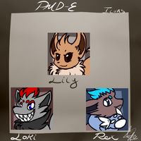 Loki, lily and Rex icons by ShikkaTL