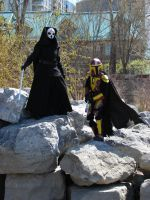 Darth Nihilus and Mandalorian by Nefthys