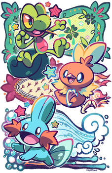 A New Hoenn Start! by crayon-chewer