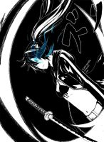 Black Rock Shooter by scary-PANDA