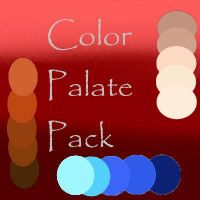 Color Palate Sheets by onyxrayne