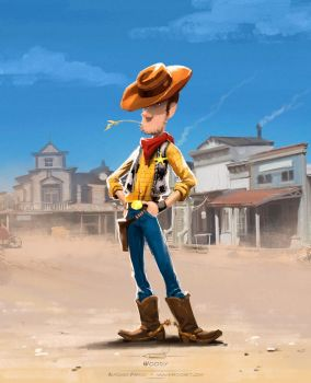 Woody by pardoart