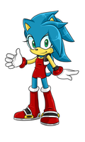 Sonic X Sally Fan Child .:Female:. by VeggieMadness