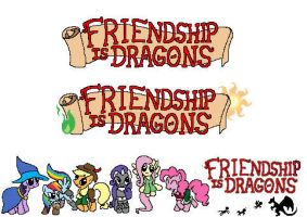 Friendship Is Dragons by ThousandYearSunrise