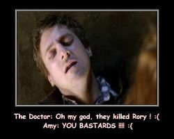 Doctor Who - R.I.P. Rory Arthur Williams by DoctorWhoOne