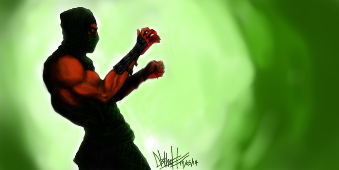 Reptile Mortal Kombat by N3thruH
