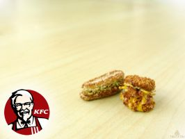 KFC Inspired Miniatures by Tristatin