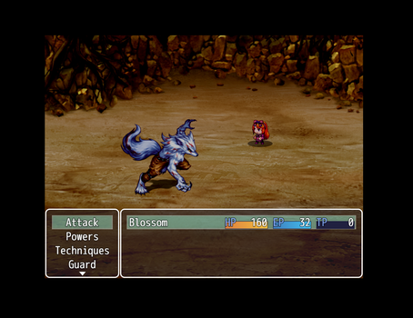 PPG Game - Battle Engine Screenshot by AkuBlossom
