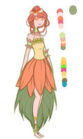 Mask Material: Faux Flowers .: Adoptable Closed:. by Ask-TheKingofGames