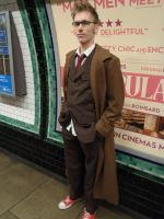 10th Doctor (London Underground) by TimeLord1991
