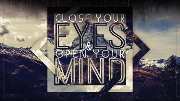 Open Your Mind by GHOSTciu
