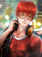 Mystic Messenger - 707 by pauldng