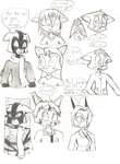 Dreamkeepers sketches 1 by ezioauditore97