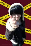KEEP OUT: Izaya Orihara by BengalTiger4