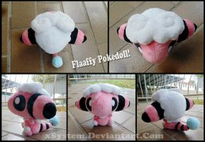 Flaaffy Pokedoll by xSystem