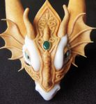 DRAGON HEADDRESS - WIP by Priscillascreations