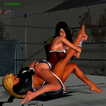 Wrestling Re-Match - Sabrina vs Superior Woman 4 by ssj3gohan007