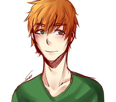 Random Ginger Guy by ke-ys