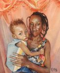 Ederson and his Mom by IrieGyal