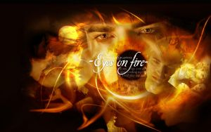 Edward Cullen - Eyes on fire by Moniquiu