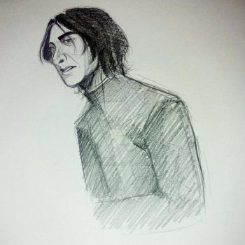 Severus Snape by apocalyptic-insanity